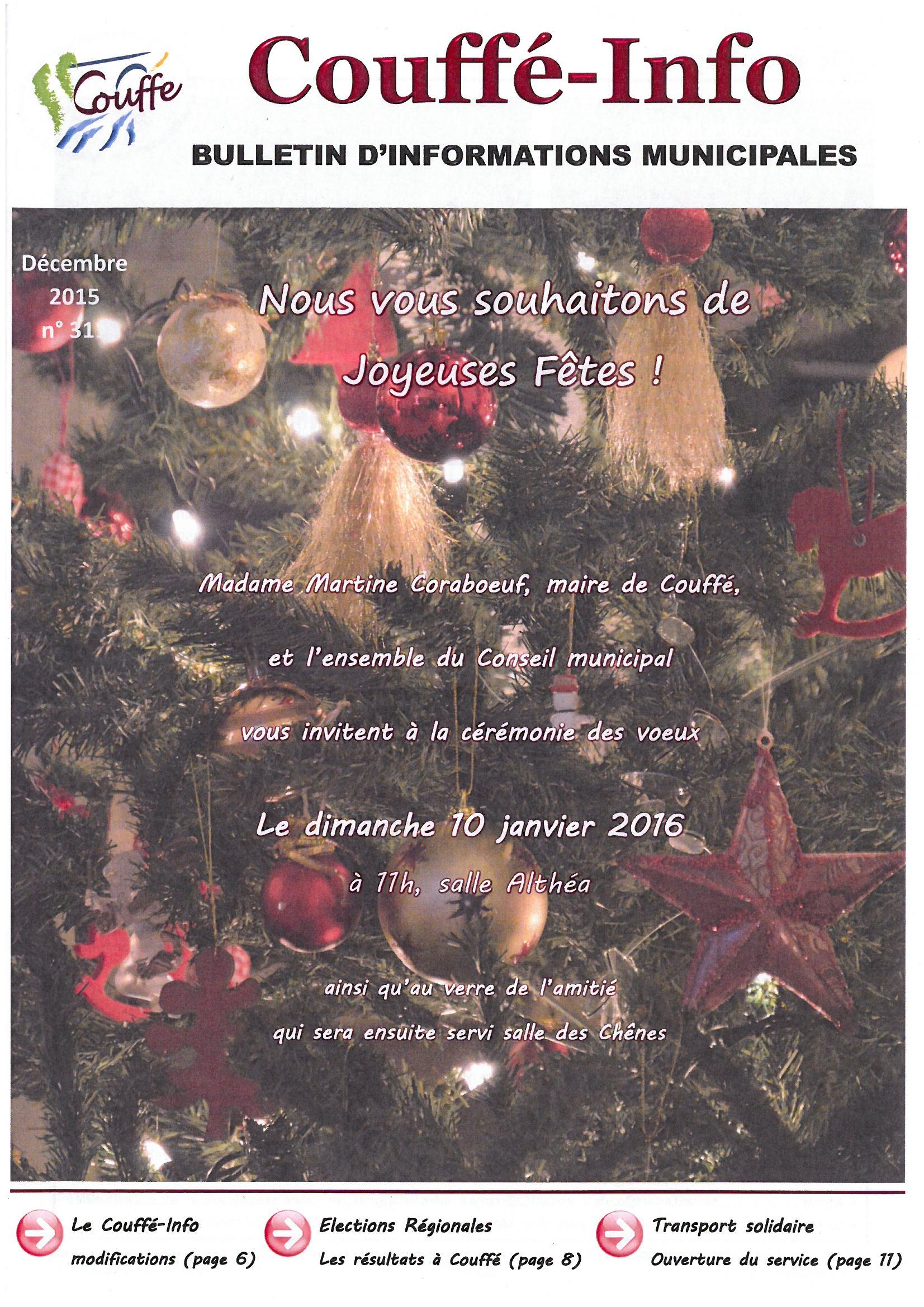 couv. Couffé-info décembre 2015